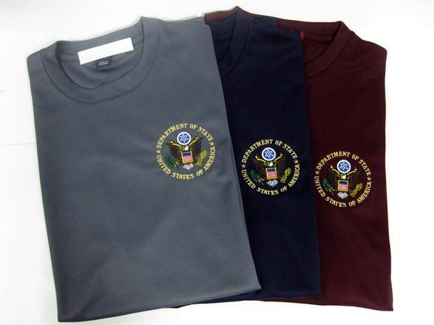 Dri-Mesh T-Shirt/DOS Embroidered