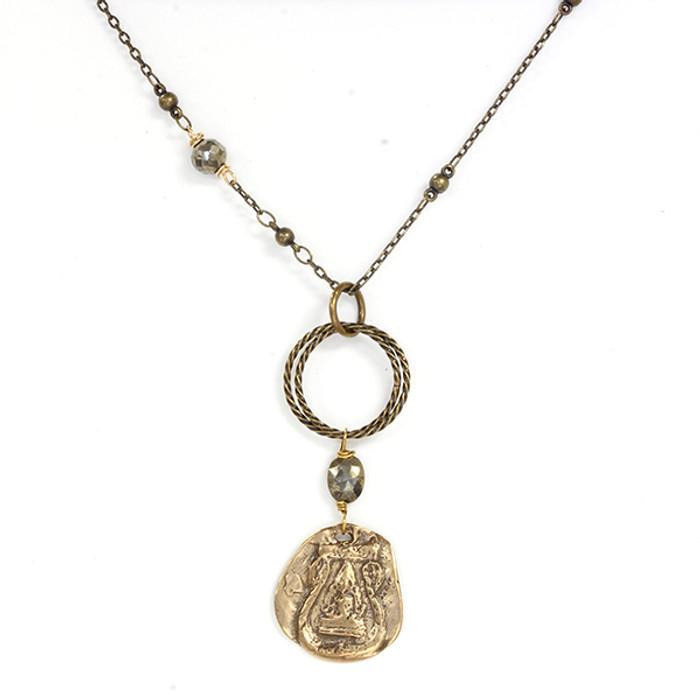 Buddha w/ Pyrite