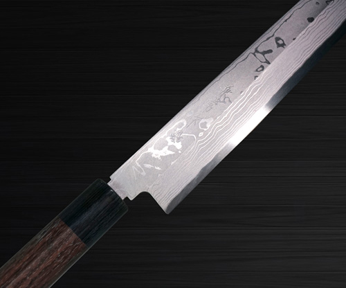 Kanetsune KC-400 White Steel 11-Layer Damascus