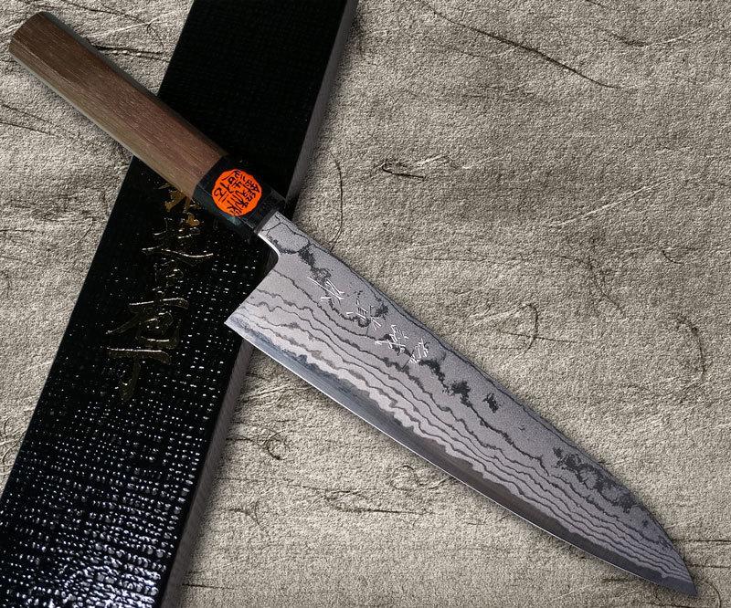 Shigeki Tanaka Aogami No.2 Damascus WHW
