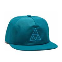 Triple Triangle Snapback - Crystal Blue
