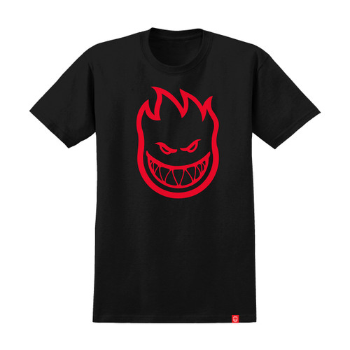 Bighead Tee - Black/Red