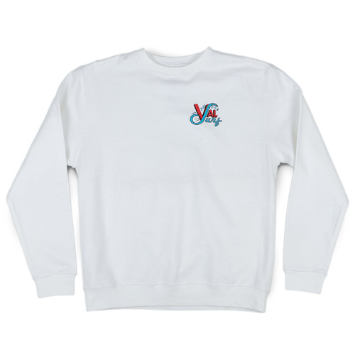 OG Full Color Crew - White
