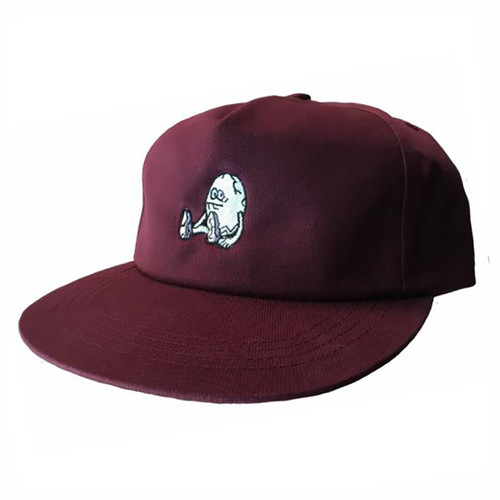 The Egg Snapback - Burgundy