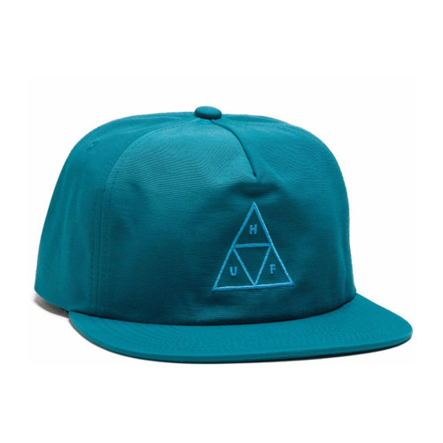 Triple Triangle Snapback - Crystal Blue