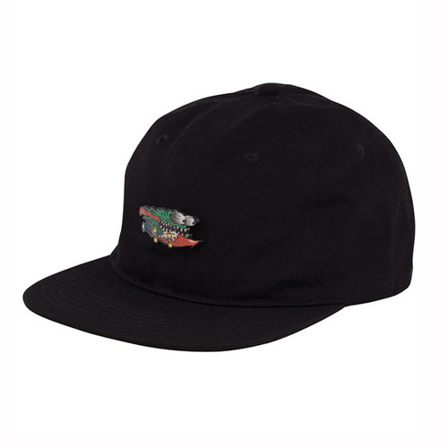 Pinned Slasher Adjustable Snapback - Black