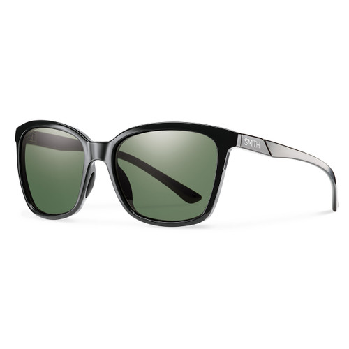 Colette - Black - ChromaPop Polarized Gray Green