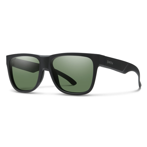 Lowdown 2 - Matte Black - Chromapop Polarized Gray Green