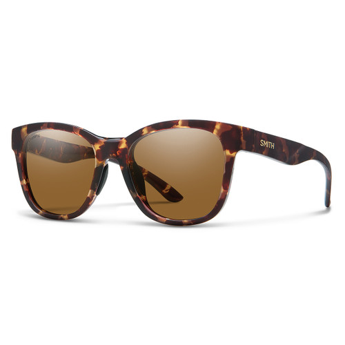 Caper - Matte Tortoise - ChromaPop Polarized Brown