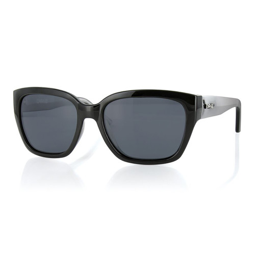 Scarlett Polarized - Black - Grey Polarized