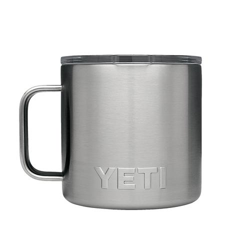 Rambler 14 oz Mug - Stainless Steel