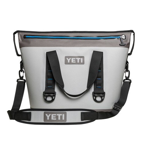 Hopper Two 30 Cooler - Fog Gray/Tahoe Blue
