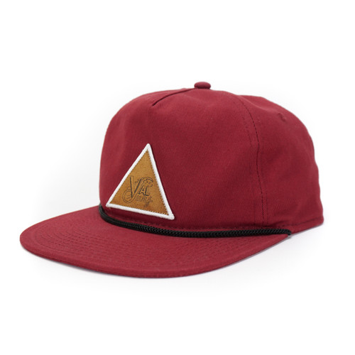 Triangle OG Patch 5-Panel - Maroon - O/S