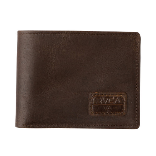 Dispatch Leather Wallet - Dark Brown