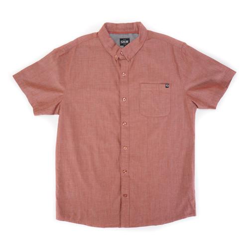 Coastal Woven Shirt - Red