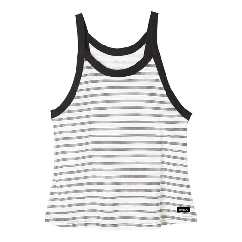 Label Tank - Vintage Black