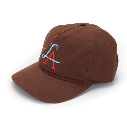 LA Wave Spectrum Snapback - Cinnamon