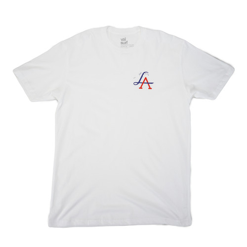LA Wave Tee - Field White