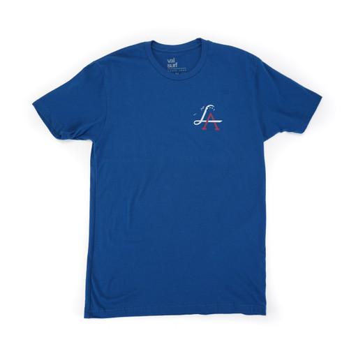 LA Wave Tee - Field Blue