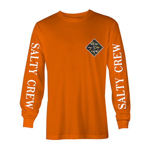 Tippet Cover Up LS Tee - Orange