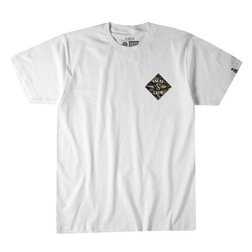 Tippet Cover Up Tee - White