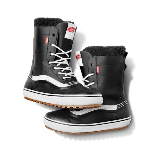 Standard Snow Boot - Black/White