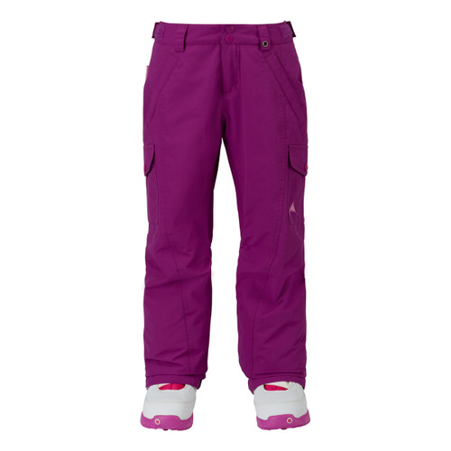 Girls Elite Cargo Pant - Grapeseed