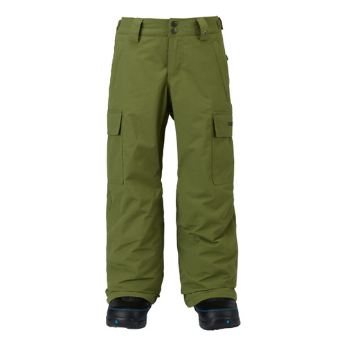 Boys Exile Cargo Pant - Olive Branch