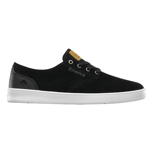Romero Laced - Black/Black/White