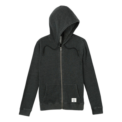 Label Burnout Fleece - Charcoal