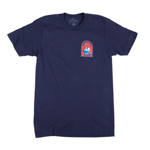 Patch Tee - Navy