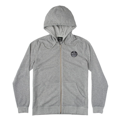Machine Sun Wash Zip - Grey Noise