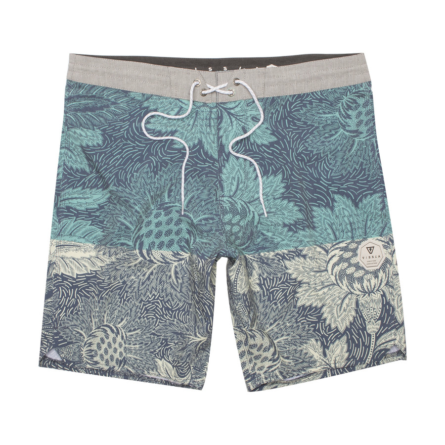 "Etched 18.5"" Boardshort - Dark Navy"