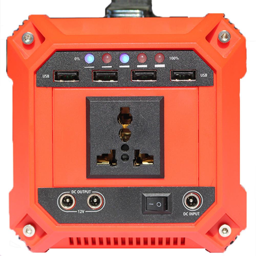 Universal 240V AC outlet