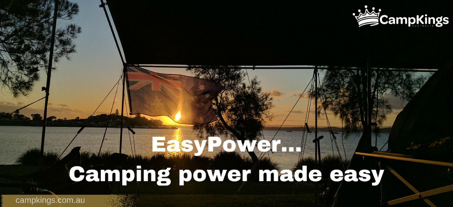 Portable solar camping power?