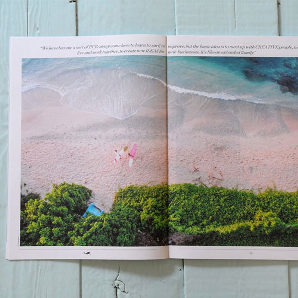 Sirene, Issue Five beach