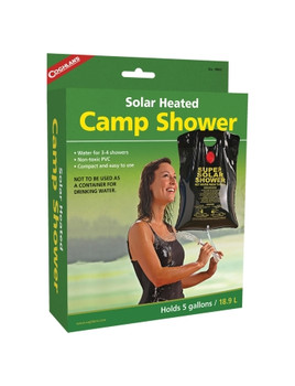 Coghlans - Solar Heated Camp Shower - 9965 - Outdoor Stockroom