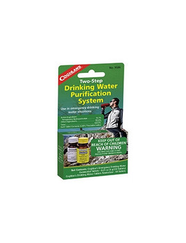 Coghlans - 2 Step Drinking Water Treatment - 9586 - Outdoor Stockroom
