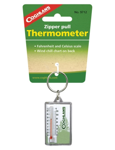 Coghlans - Zipper Pull Thermometer - 9712 - Outdoor Stockroom