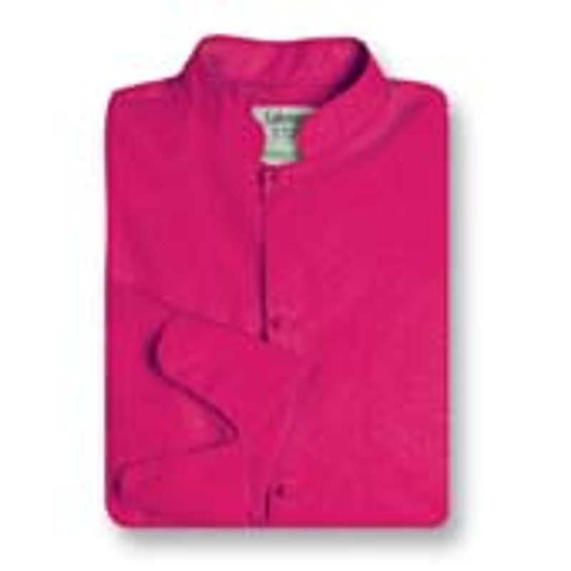 Women's Mandarin Coat in Hot Pink Poplin