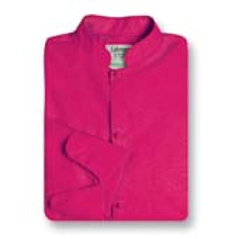 Women's Mandarin Coat in Hot Pink Poplin