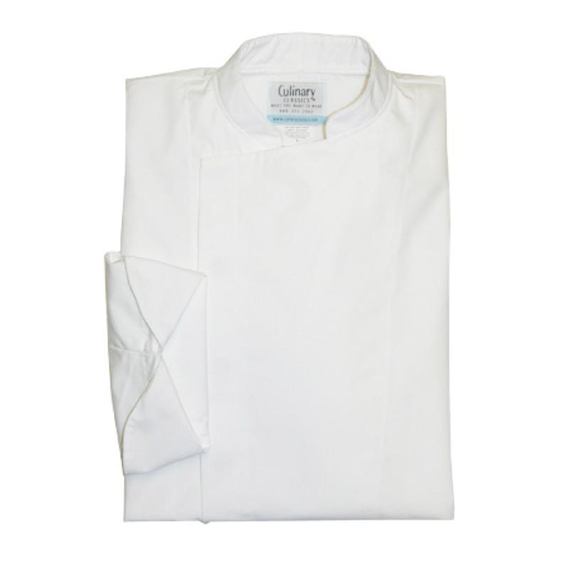 Epicurean Chef Coat in White Egyptian Cotton