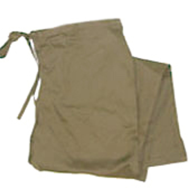 Scrub Chef Pants in 100% Khaki Cotton Twill