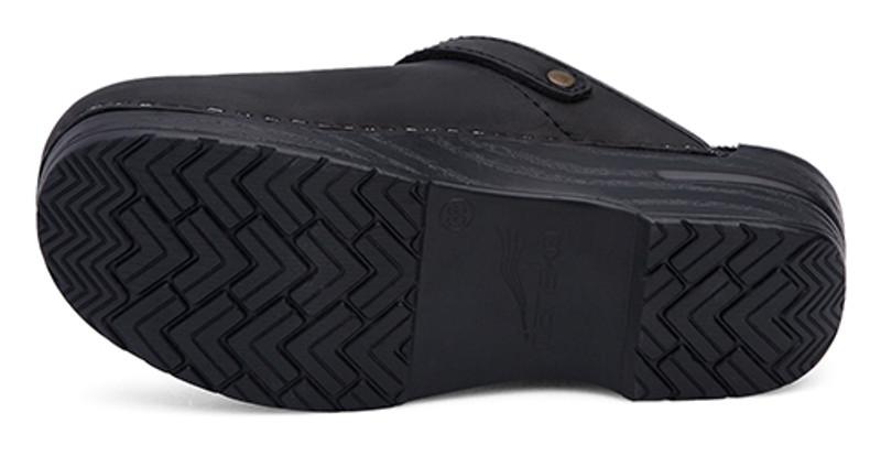 Dansko Ingrid Clog in Black Box Leather