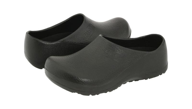 Black Birki Professional Clog Slip Resistant Chef Shoes
