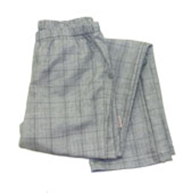 Women's Straight Leg Chef Pants in Chef's Glen