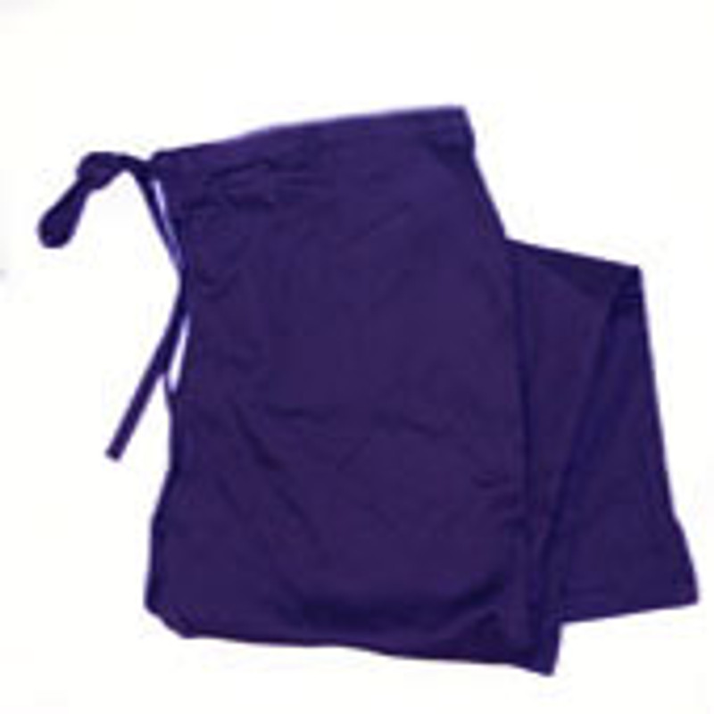 Women's Scrub Pants in Purple