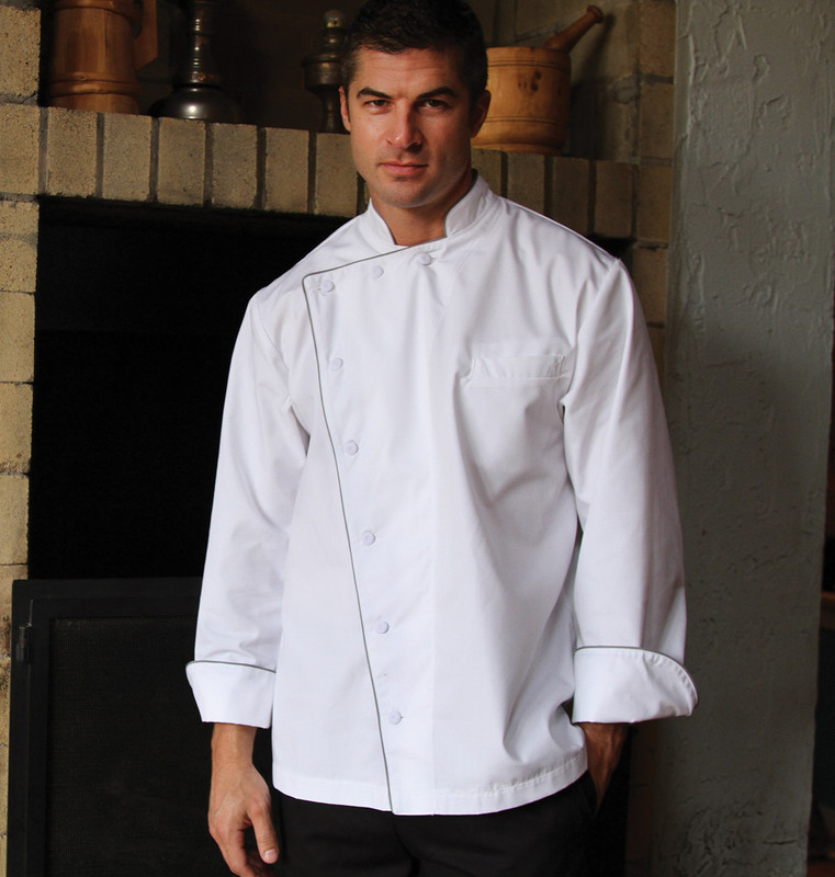 Build Your Own Premium Bordeaux Chef Coat