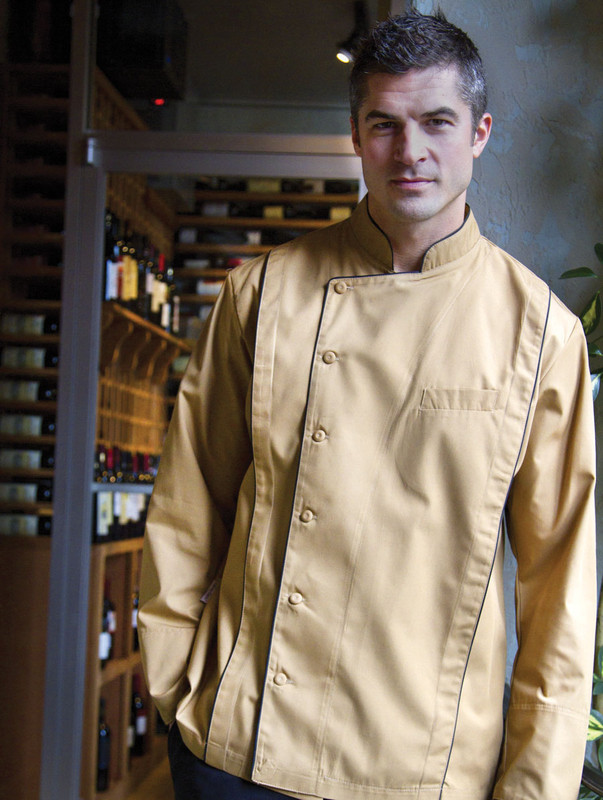 Milan Chef Coat - Build Your Own