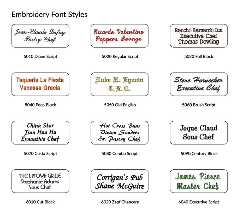 Build Your Own Premium Vanguard Chef Coat